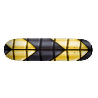 Super héroes - negro y amarillo patin