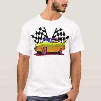 Superbird y banderas cruzadas camiseta