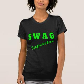 Superestrella del Swag Camisetas