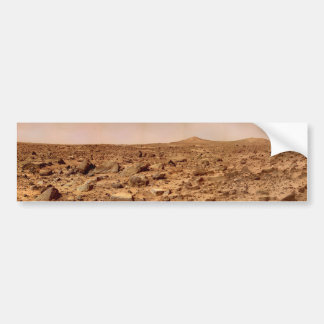 Superficie de Marte, paisaje marciano Pegatina Para Coche