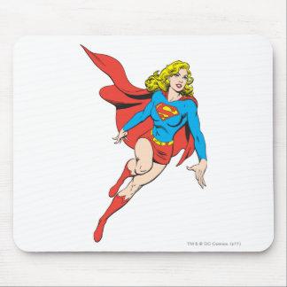Supergirl en el movimiento alfombrilla de ratón
