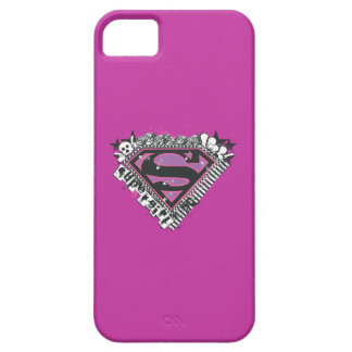 Supergirl fija el logotipo iPhone 5 coberturas