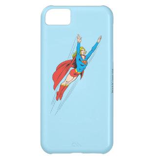 Supergirl se eleva arriba funda para iPhone 5C