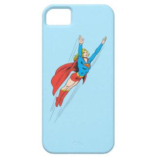 Supergirl se eleva arriba iPhone 5 Case-Mate coberturas