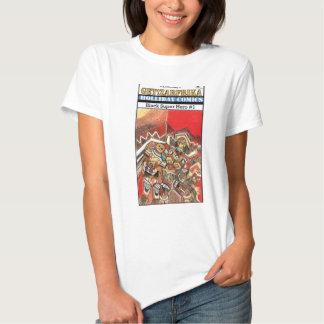 Superhéroe negro y el muchacho (Zarfrika) Camiseta