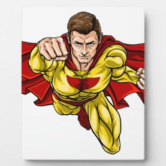 Superhéroe Placa Expositora