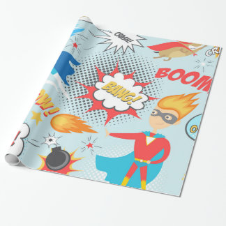 Papel de regalo infantil en Zazzle