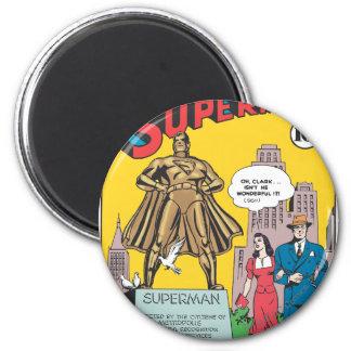 Superhombre #16 imán redondo 5 cm