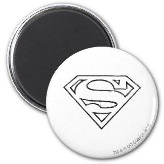 Superhombre 24 imán para frigorifico