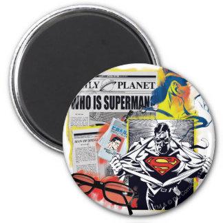 Superhombre 41 imán redondo 5 cm