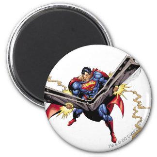 Superhombre 42 imán redondo 5 cm