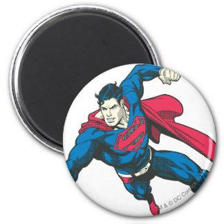 Superhombre 4 imán redondo 5 cm