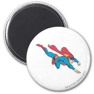Superhombre 50 imán redondo 5 cm