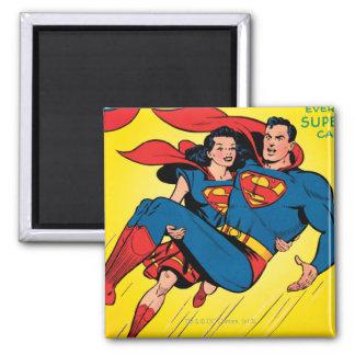 Superhombre #57 iman de frigorífico