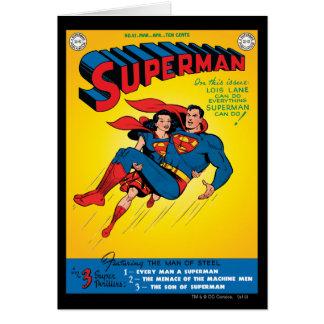 Superhombre #57 tarjeta de felicitación