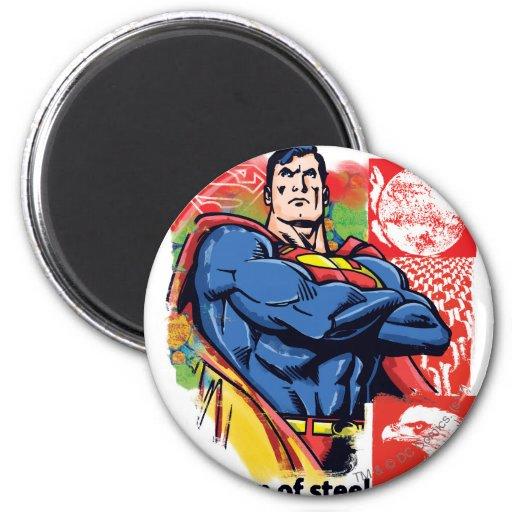 Superhombre 58 iman de frigorífico