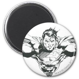 Superhombre 60 imán redondo 5 cm