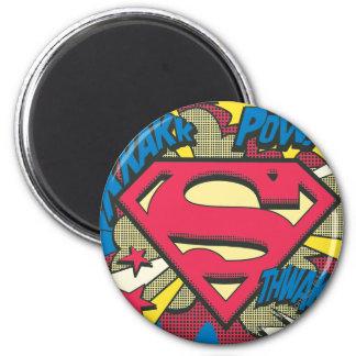 Superhombre 66 imán redondo 5 cm