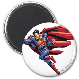 Superhombre 73 imán redondo 5 cm