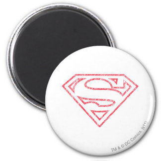 Superhombre 8 imán de frigorífico