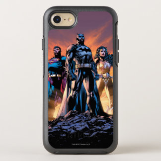 Superhombre, Batman, y trinidad de la Mujer Funda OtterBox Symmetry Para iPhone 8/7