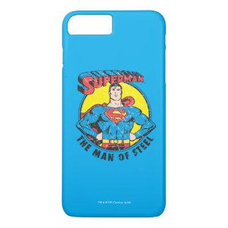 Superhombre el hombre de acero funda para iPhone 8 plus/7 plus