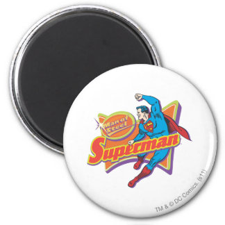 Superhombre - hombre de acero imán