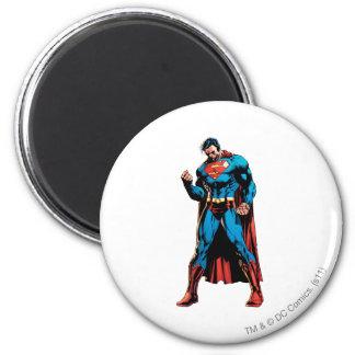 Superhombre - mano en el puño imán de frigorifico
