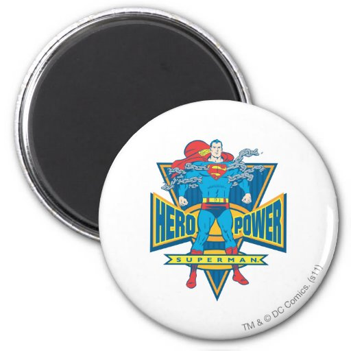 Superhombre - poder del héroe iman para frigorífico