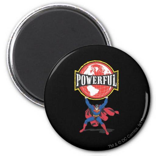 Superhombre potente del mundo imán para frigorifico