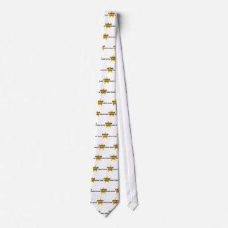 Superintendente escolar orgulloso corbata personalizada
