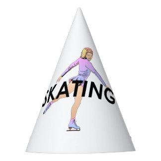 SUPERIOR chica del patinaje artístico Gorro De Fiesta