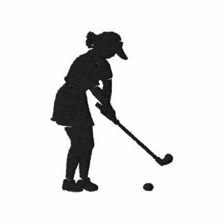 Superior de la camisa del polo golf de las señoras