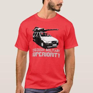 Superiourity militar sueco camiseta