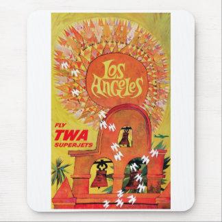 Superjets del TWA - Los Ángeles Mousepad Alfombrillas De Raton