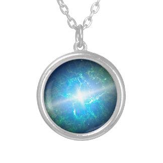 Supernova Collar Plateado