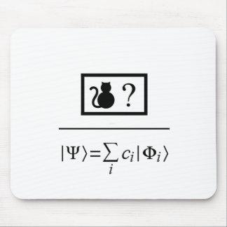 Superposición de Quantum Alfombrilla De Ratón
