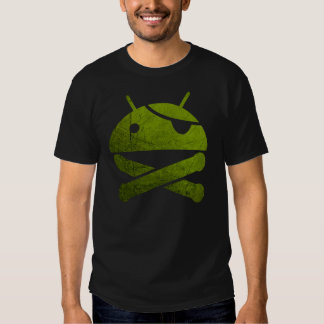 Superuser androide camisas