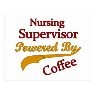 Supervisor del oficio de enfermera accionado por e postal