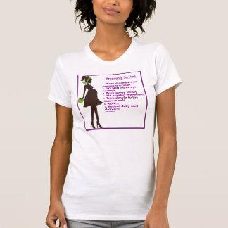 Supervivencia del embarazo camisetas