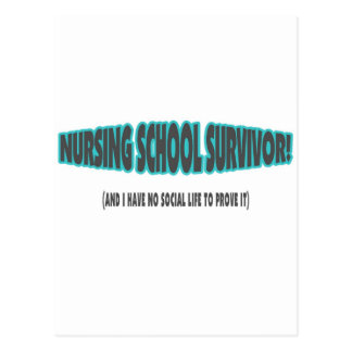Superviviente de la escuela de enfermería (y yo no postal