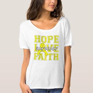 Superviviente de la fe del amor de la esperanza de camisetas