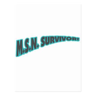 Superviviente de MSN en trullo Postales
