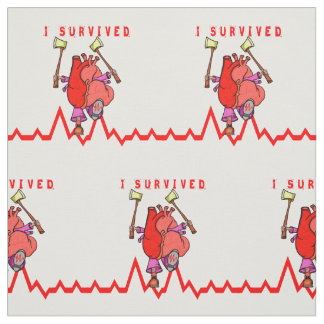 Superviviente del ataque del corazón tela