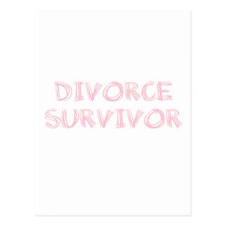 Superviviente del divorcio - 1 - rosa postal