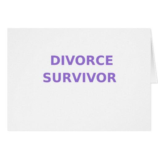 Superviviente del divorcio - 2 - violeta tarjetón
