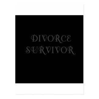 Superviviente del divorcio - 3 - gris postal
