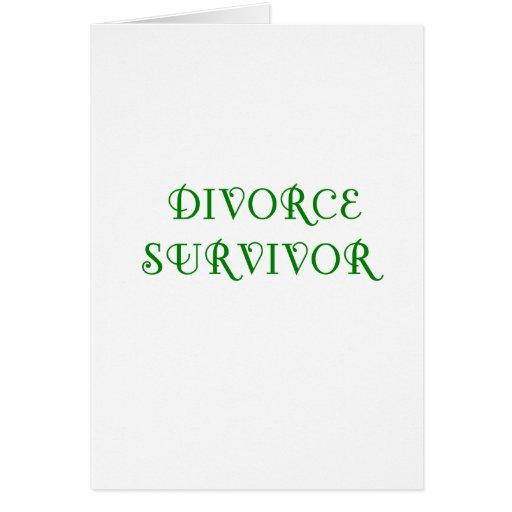 Superviviente del divorcio - 3 - verde tarjeta
