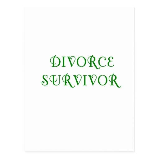 Superviviente del divorcio - 3 - verde postal