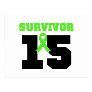 SUPERVIVIENTE del linfoma 15 años Postal